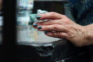 Deborah printing - hand