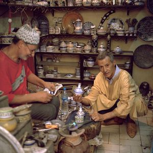 Traditional moroccan ceramic, Fès , Morocco