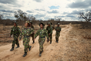 The Black Mambas on patrol