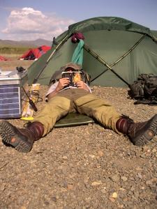 Rest Break in the Camp