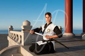 August Light, Martial Artist