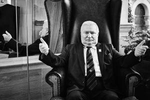 Portrait Lech Walesa