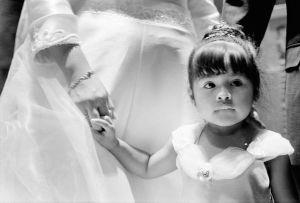 Jocelyn Alfaro attended a wedding.