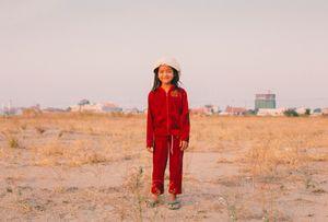 Portrait de une Jeune Fille - Boeung Kak Lake (Phnom Penh)