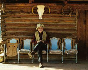 Herman Manzanares, Vaquero, New Mexico