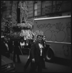 Saint's Day Parade in Little Italy, New York, NY
