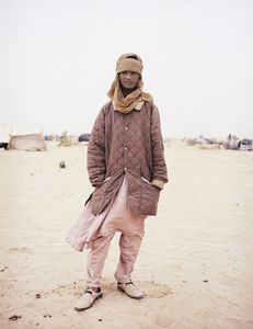 "Northern Malian Touareg Refugee, from the series, ""The Dynamics of Dust"", 2012 © Philippe Dudouit, East Wing"