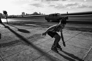 EN EL MALECON, LA HABANA, CUBA 9