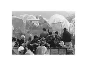 kosovo war - kukes - albania - 1999