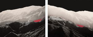 Geographical Lore, red line, mountain