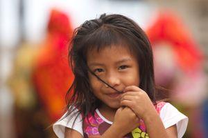 A Kuna Yala Girl