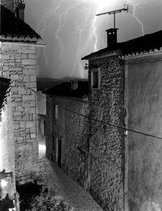 Lightning Storm, Lacoste, France