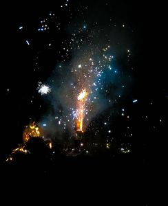 Galactic fireworks