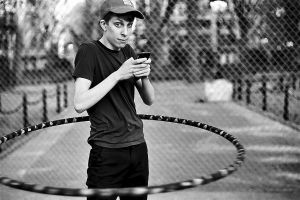Hula Hoop Kyle, New York City, 2011