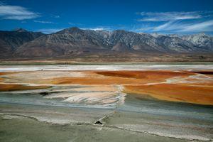 Brine Formation, Owens Lake, CA