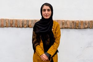 Herat. Somaia V., 36, is a journalist who works in Herat. «It is extremely difficult for us, as a women, to do our job. We live in an archaic society and even if life is slowly improving we are often threatened with death because of our profession».