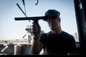 On the USS de Wert, New Orleans LA, April 2012