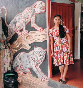 Woman and Tigers, Santiago Tuxtla, Veracruz, México 1987