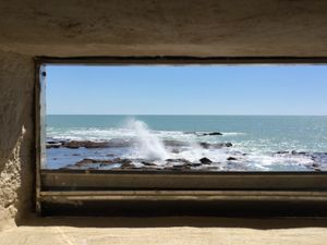 sea within a frame