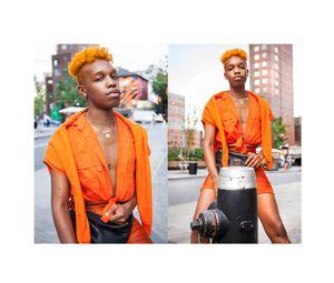 Ziggy in Orange