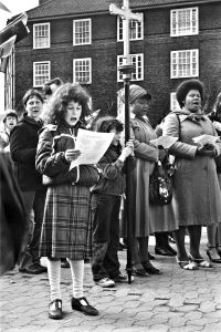Easter Service, St. Paul's Church West, Greenwich, England, 1982