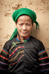 Pu Peo lady in Ha Giang Province