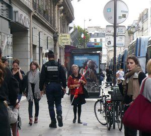 Women faces in Paris