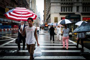 Rainy Day in New York