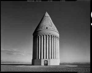 Tower of Radkan (1261 AD), tomb tower and possible solar observatory, Khorasan Province, Iran, 2015