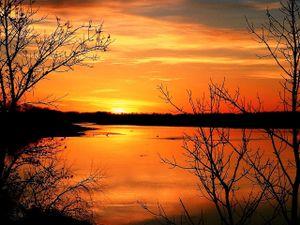 Missouri River Golden Morning