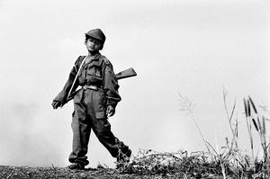Cambodia, child soldier.