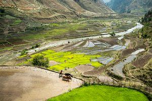 The Garjyangkot Valley.