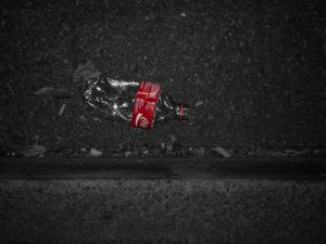 Coke squashed. © Ross Duncan
