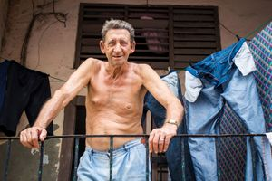 Habana, Cuba: El Viejo del Cristo