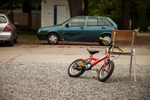 Abandoned Bicycle.