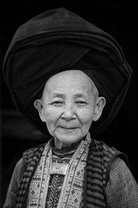 Portrait of a Dao woman