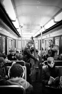 Musicians in the subway