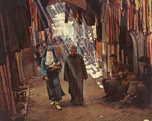 Shopping At The Kasbah