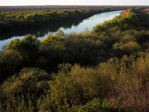 International Border River between Texas and Coahuila