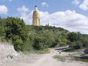 Laykyun Setkyar. Monywa, Myanmar, 116 m (381 ft). Built in 2008 © Fabrice Fouillet