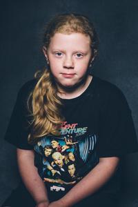 Maddison aged 11.