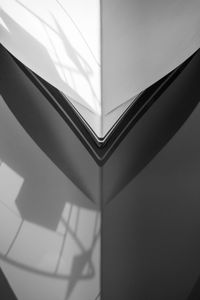 Shadow asymmetry