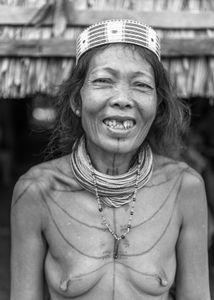 Femme Mentawai.
