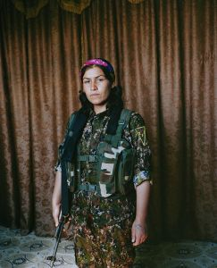 Jihan, 25 years old. Kobani, Syria.