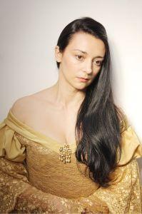 Актриса Людмила Дорошева в коридоре театра. Actress Lyudmila Dorosheva in the hall of the theater.
