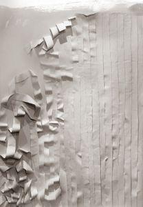 "Wall, 2017. 33 x 44"" Archival Inkjet Print on Aquarelle Rag 310 GSM"