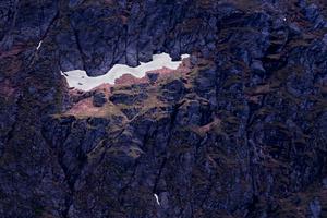 Alpine View - Melting Snow #32 (2020)