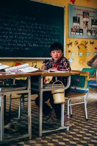 Vietnamese schoolboy