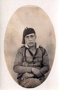 Bonaventura Miralpeix as a soldier in Morocco