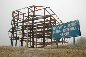 Noah's Ark Being Rebuilt Here!, Frostburg, Maryland, 2007